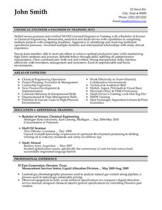 Click Here To Download This Chemical Engineer Resume Template! Http://www.  Engineering Resumes