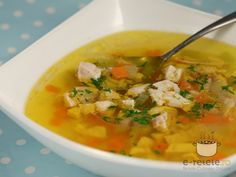 Cooking Recipes, Healthy Recipes, Healthy Food, Cream Soup, Thai Red Curry, Goodies, Food And Drink, Ethnic Recipes, Soups