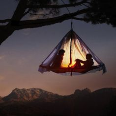 Camping the way I like it :)