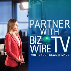 Want to be featured on the next episode of @BizWireTV? Get your #news heard including #video distribution to the AP Video Hub and @thomsonreuters Indsider video network!  Go to  bwnews.pr/partner for more. #BizWireTV  #PR #PRpros #media #breakingnews #disruption #content #marketing #funding #entrepreneur #business #trends