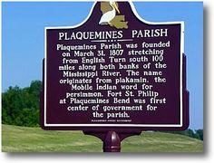 Plaquemines Parish Louisiana