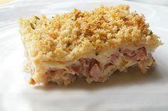 Tepsis Cordon Bleu csirke - lépésről lépésre - www.kiskegyed.hu