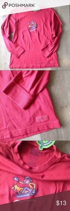 NWT...Life is Good ski long sleeve shirt NWT. Smoke free home.   Size:XL 12/14 Life Is Good Shirts & Tops Tees - Long Sleeve