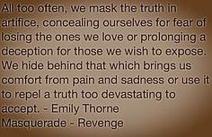 Masquerade: Opening quote #Revenge