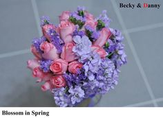 Fresh Flower Bouquet - Blossom in Spring