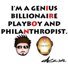 Tony Stark Iron Man by ~AnnettA90