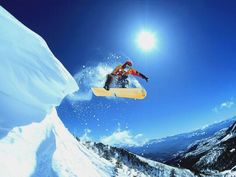 would love to go snow boarding!