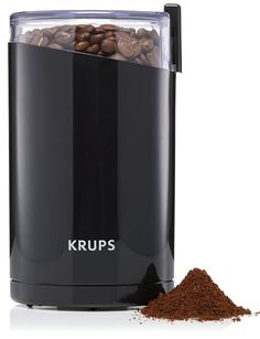 """I usually settle for grinding my own coffee at Trader Joe's when I buy it, but I know *lots* of self-professed coffee snobs who swear by this little kitchen gadget. Read one BuzzFeeder's ~glowing~ review here.Promising review: """"This has been a great, reliable, and well-performing coffee grinder that I use for my French press. I recommend grinding the beans for about 6-7 seconds if you're using a French Press, depending on how coarse/fine you like your grind. The coffee snobs will tell you…"""