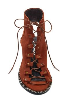 Edgewater Lace Up Sandal by Free People on @nordstrom_rack
