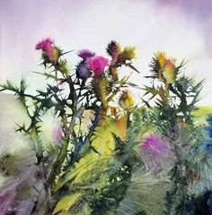 Thistles-Ann Blockley