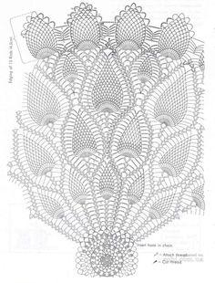 Newest Pictures Crochet Doilies Centerpi Crochet - Diy Crafts - maallure Crochet Tablecloth Pattern, Crochet Doily Diagram, Filet Crochet Charts, Crochet Doily Patterns, Crochet Mandala, Thread Crochet, Crochet Motif, Crochet Shawl, Crochet Designs