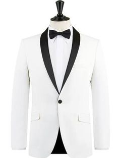 white tux jacket - Google Search