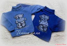 Мишки Тедди для мальчиков близнецов.