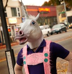 Magical Unicorn Mask - Archie McPhee & Co.