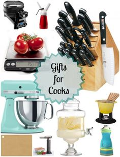 Best Gifts for Cooks #holidays #holidaygifts #cooking #christmas