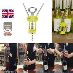 New outu stainless #steel wine beer #bottle opener corkscrew #angel wings green u,  View more on the LINK: http://www.zeppy.io/product/gb/2/391515976892/