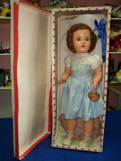 Vintage doll made in Brazil - Boneca Fala Mamãe Estrela 40's