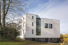 Projects Higher Education Ruskin College Exterior Landscape Penoyre and Prasad Rainscreen Cladding, Stone Cladding, Cladding Systems, Stone Facade, Higher Education, Portfolio Design, Natural Stones, College, Exterior