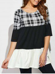 SHARE & Get it FREE | Plaid Babydoll BlouseFor Fashion Lovers only:80,000+ Items • New Arrivals Daily • Affordable Casual to Chic for Every Occasion Join Sammydress: Get YOUR $50 NOW!