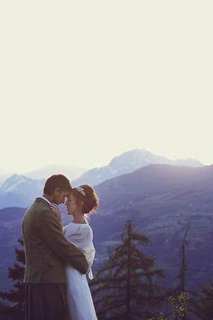 Benjamin Roberts wedding dress for a beautiful wedding in Italy