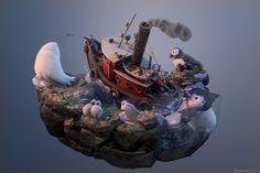 ArtStation - Fishing Trip, Joel Zakrisson
