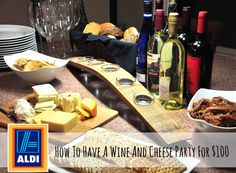 25 Tips To Make Holiday Entertaining Stress Free Wine And Cheese Party, Wine Cheese, Aldi Cheese, Cheese Tasting, Wine Tasting, Cheese Pairings, Wine Parties, Wine And Beer, Cooking Recipes