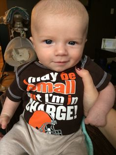 hot sale online 401e7 3f248 25 Best Cleveland Browns Baby Fun images in 2016 | Brown ...