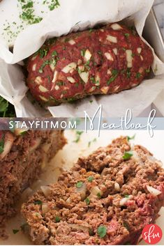 Meatloaf 2.0 - Stay Fit Mom Meatloaf Ingredients, Macro Friendly Recipes, Meatloaf Recipes, Recipe For Mom, Italian Seasoning, Calorie Diet, Serving Size, Stay Fit, Fried Rice