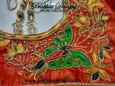 Aari Embroidery classes by PrabhasDesigns Cutwork Blouse Designs, Fancy Blouse Designs, Bridal Blouse Designs, Blouse Neck Designs, Aari Embroidery, Hand Embroidery Designs, Machine Embroidery, Embroidery Blouses, Tailoring Classes