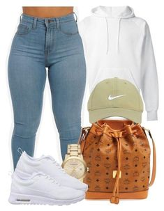 A fashion look from December 2015 by bria-myell featuring SWEAR, NIKE, MCM, Burberry and Nike Golf Cute Swag Outfits, Cute Outfits For School, Teenage Outfits, Teen Fashion Outfits, Dope Outfits, Outfits For Teens, Trendy Outfits, Winter Outfits, Black Outfits