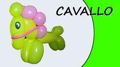 Video tutorial su come realizzare un cavallo con i palloncini modellabili.