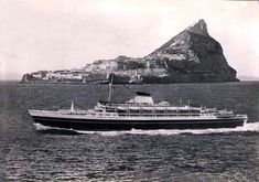 'Cristoforo Colombo' - Italia nav. - 1953 Andrea Doria, Rogue Wave, Cruise Ships, Genoa, Steam Locomotive, Battleship, Trains, Scotland, The Past