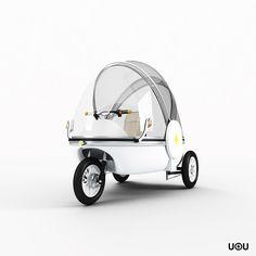 UOU. O carro elétrico português - High-Tech Girl