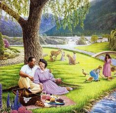 """The HOLY SCRIPTURES at ISAIAH 65: 1 thru 66: 24 ... Building houses; planting vineyards ........ No one will toil for nothing_____Gloriously does Isaiah paint the Kingdom hope for the future!...wherein """"a king will reign for righteousness itself"""" ... everlasting Life through God's begotten Son-John 3: 16"""