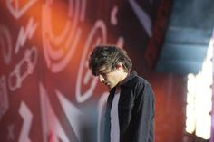 Louis on stage a the TFC Bank Stadium in Minneapolis