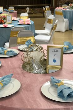 Cinderella Centerpiece Check out our Cinderella planning guides for inspiration on decor, dresses, and more! Cinderella Party Decorations, Cinderella Quinceanera Themes, Cinderella Centerpiece, Quinceanera Planning, Quinceanera Party, Cinderella Sweet 16, Cinderella Theme, Cinderella Birthday, Cinderella Invitations
