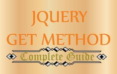 The jQuery Get() method is an AJAX method used to send and receive data from the Database or external files without reloading the whole page. Get Method, Coding, Learning, Studying, Teaching, Programming, Onderwijs