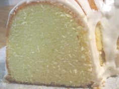 Elvis Presley's Favorite Whipping Cream Pound Cake. Photo by sadielady