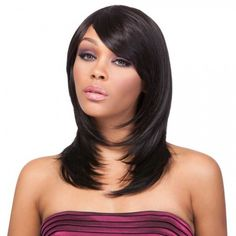 Its a Wig 100% Human Hair Premium Mix Wig HH Hailey