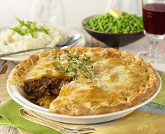 Chunky Beef Pie with Cauliflower Mash - Everyday Delicious Kitchen