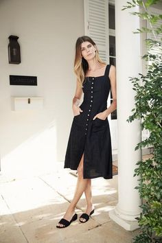 b3f7843f8f Milan Dress - Black
