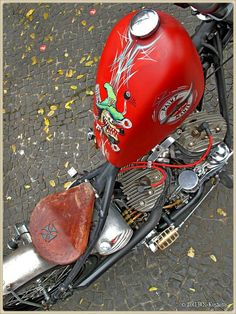 Classic Rat Bike.