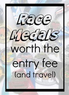 Race Medals Worth The Entry Fee- running event in the US