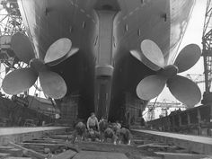 https://flic.kr/p/H7sTJ5 | Preparing the slipway for a launch | Shipyard workers preparing the slipway for the launch of the passenger ship 'Northern Star' at the Walker Naval Yard, Newcastle upon Tyne, 27 June 1961 (TWAM ref. DT.TUR/6/26948K).  This set of images celebrates the achievements of the Naval Yard at High Walker. The Yard was established by Sir W.G. Armstrong Whitworth