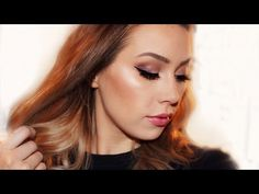 Glam Bridal Makeup Tutorial   Full Face   Talk Through   Laura Traum - YouTube