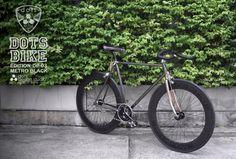 #dots bike black chrome