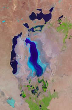 The Aral Sea by NASA Goddard Photo and Video, via Flickr