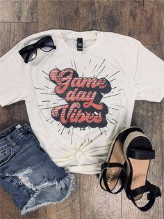 School Spirit Wear, School Spirit Shirts, School Shirts, Cheer Shirts, Sports Shirts, Football Shirts, Game Day Shirts, Club Shirts, Games To Buy