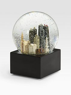 Saks Fifth Avenue Chicago Snow Globe #ScoreSense