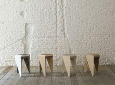 Leibal: Rayuela by Alvaro de Catalán Ocón Bench Furniture, Furniture Design, Furniture Ideas, Minimal Design, Modern Design, Traditional Tile, Multifunctional Furniture, Bench Stool, Office Interior Design
